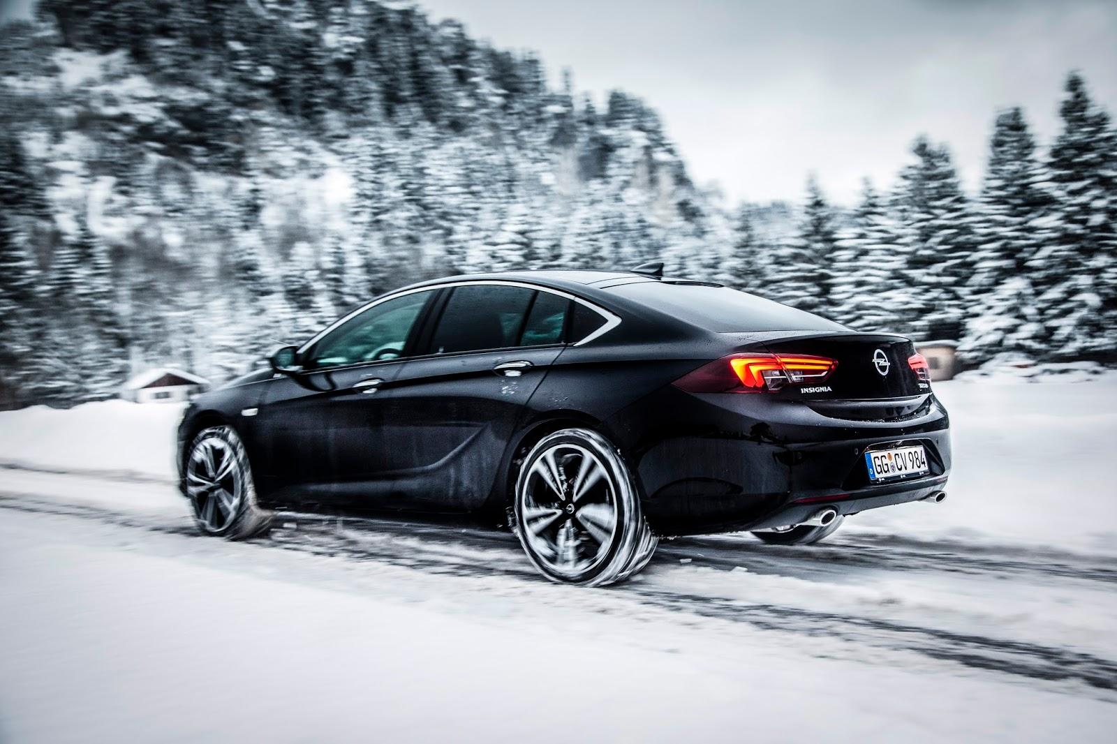 Opel Insignia Grand Sport 304914 1 Νέο Opel Insignia 4x4, με σύστημα κατανομής ροπής χωρίς διαφορικό !