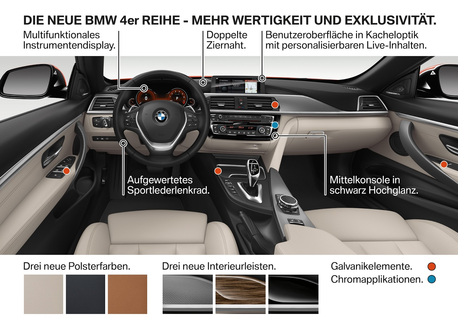 P90245355 highRes the new bmw 4 series Η νέα BMW Σειρά 4, με πιο σφιχτή ρύθμιση ανάρτησης BMW, Bmw 4, BMW 4 Cabrio, BMW 4 Coupe, BMW 4 Gran Coupé, Facelift