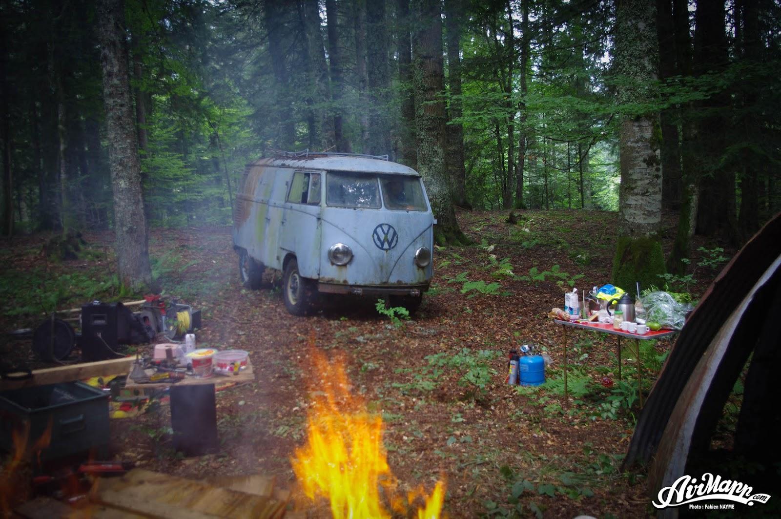 vw2Bmicrobus Η απίστευτη ιστορία ενός VW που δούλεψε μετά από 40 χρόνια Caber Van, Camper Van, Fun, VAN, videos, Volkswagen, Volkswagen Microbus, VW, VW Panelvan, VW Transporter, zblog