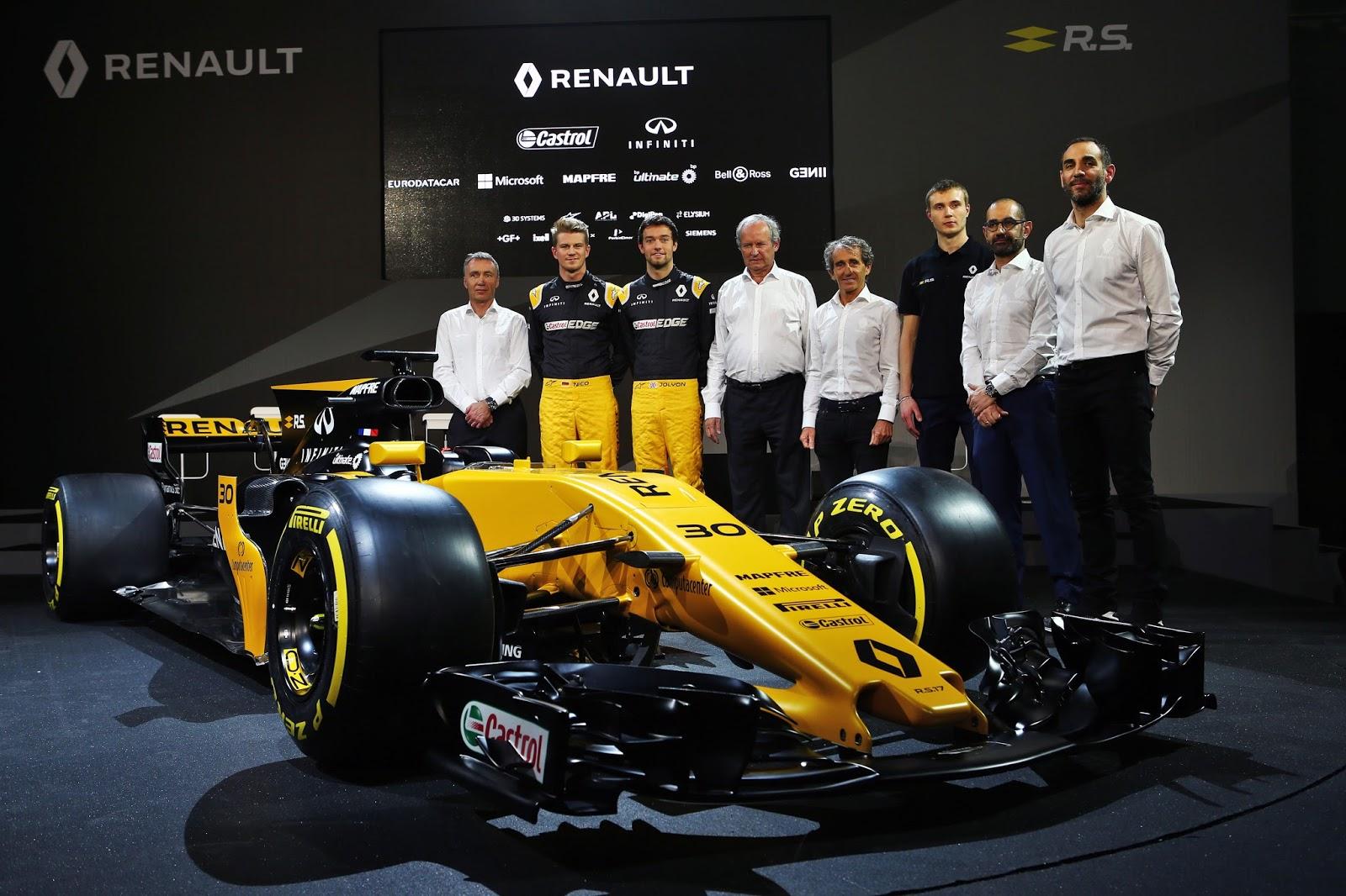 20170221161528 be813039 Η Renault Sport παρουσίασε το καινούργιο της μονοθέσιο, την R.S.17 F1, Formula 1, Renault, Renault Sport Formula 1 Team, videos