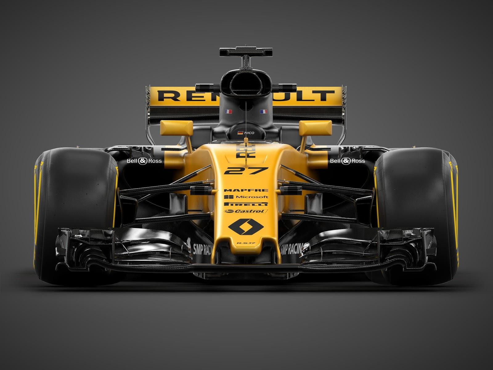 A3 RS17 Front dark studio 1 Η Renault Sport παρουσίασε το καινούργιο της μονοθέσιο, την R.S.17 F1, Formula 1, Renault, Renault Sport Formula 1 Team, videos