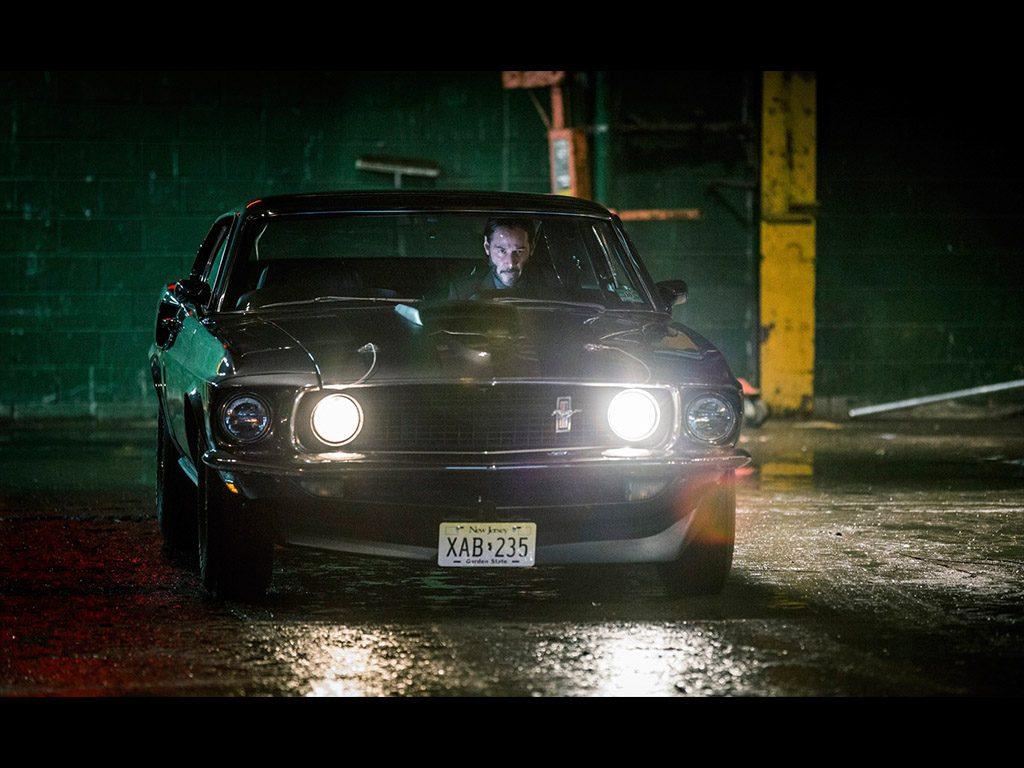 John Wick Cars Ford mustang Οι καλύτερες ταινίες με αυτοκίνητα για το 2017 car, cars, Fast & Furious, Fun, Hollywood, movie cars, petrol heads, videos