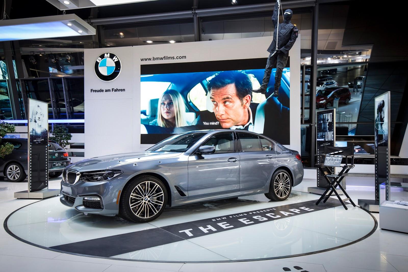 P90248625 highRes the new bmw 5 series Δες την ταινία The Escape, με πρωταγωνιστή την νέα BMW Σειρά 5 BMW, BMW 5, Fun, movie, movie cars, videos, Λανσάρισμα