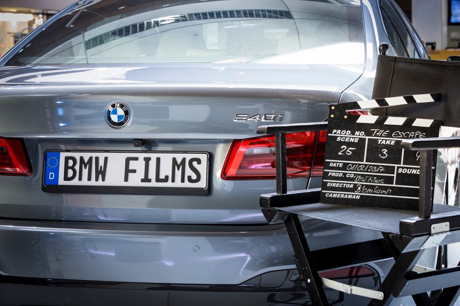 P90248627 highRes the new bmw 5 series Δες την ταινία The Escape, με πρωταγωνιστή την νέα BMW Σειρά 5 BMW, BMW 5, Fun, movie, movie cars, videos, Λανσάρισμα