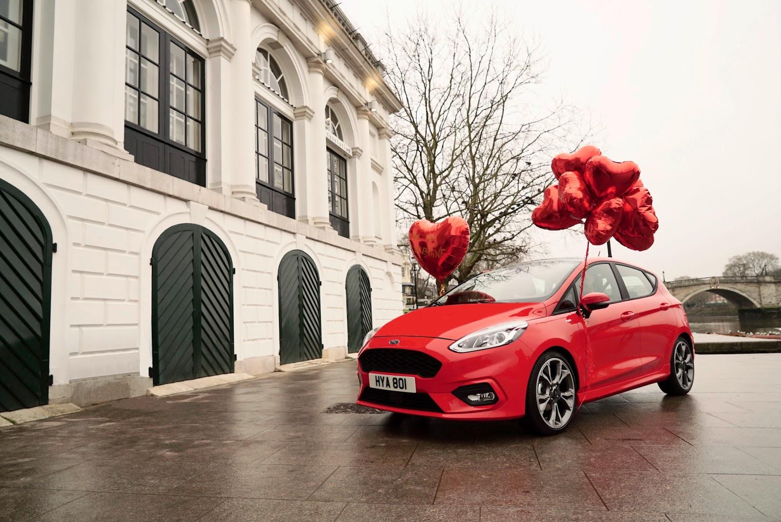 valentine Και οι εργαζόμενοι έχουν ψυχή, την ημέρα του Αγίου Βαλεντίνου Ford, Ford Fiesta, Fun, videos