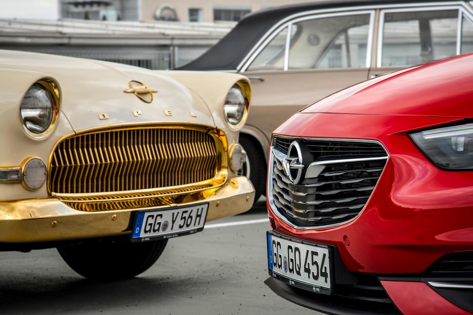 Opel Insignia Opel Kapit25C325A4n 304763 Techno Classica : Από το Opel Admiral του 1937, μέχρι το νέο Insignia