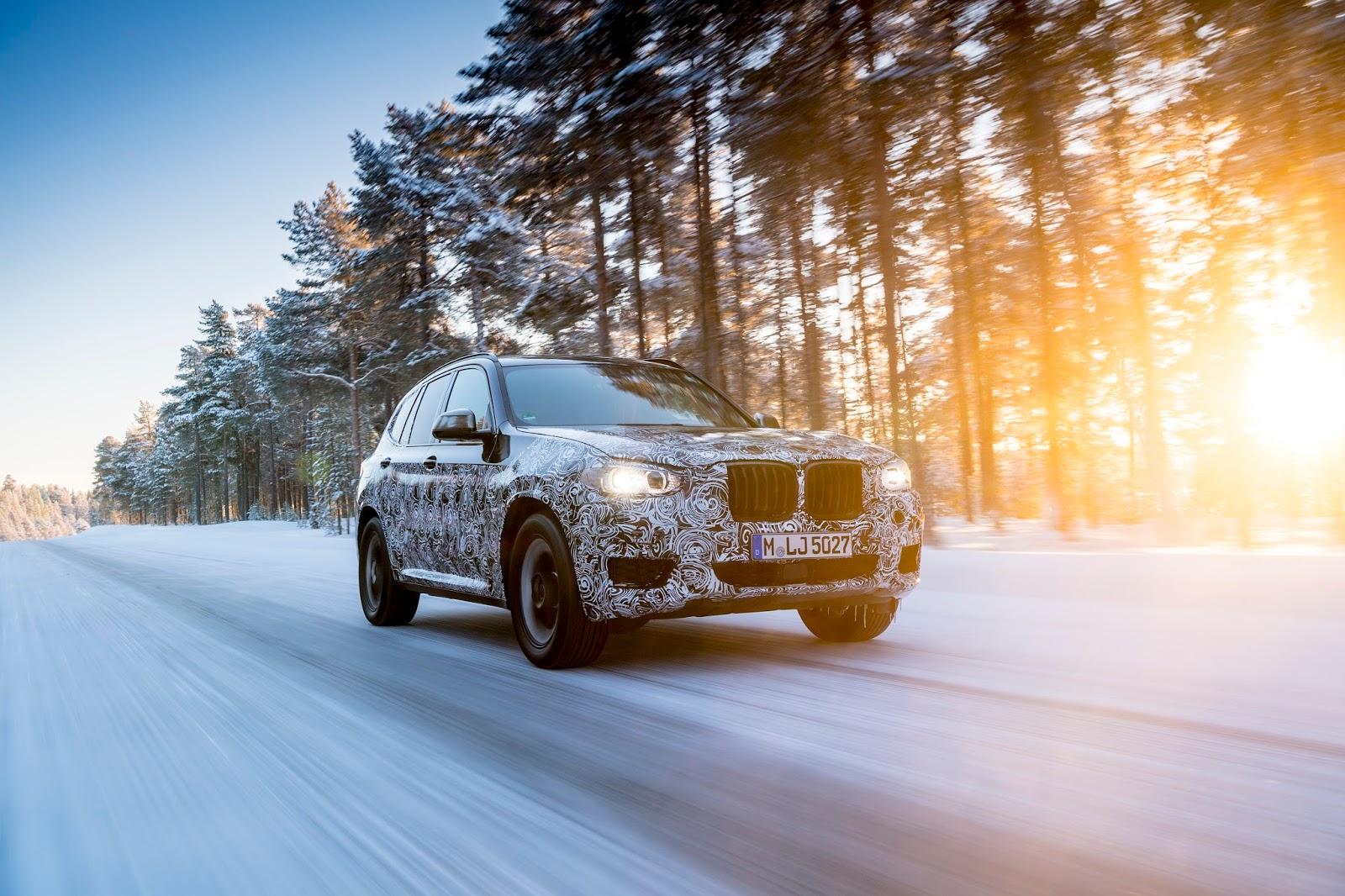 P90249811 highRes the new bmw x3 under Δοκιμές στην παγωμένη Βόρεια Σουηδία, για την επερχόμενη BMW X3 BMW, BMW X, BMW X3, SUV, videos