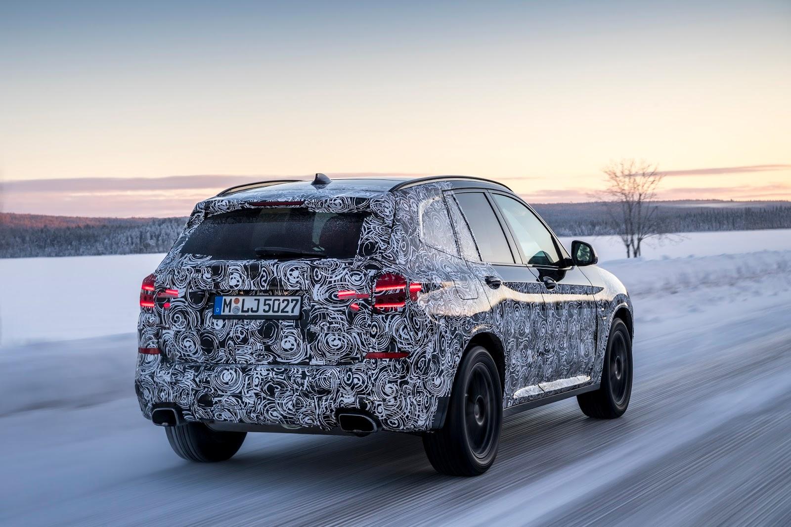 P90249813 highRes the new bmw x3 under Δοκιμές στην παγωμένη Βόρεια Σουηδία, για την επερχόμενη BMW X3 BMW, BMW X, BMW X3, SUV, videos