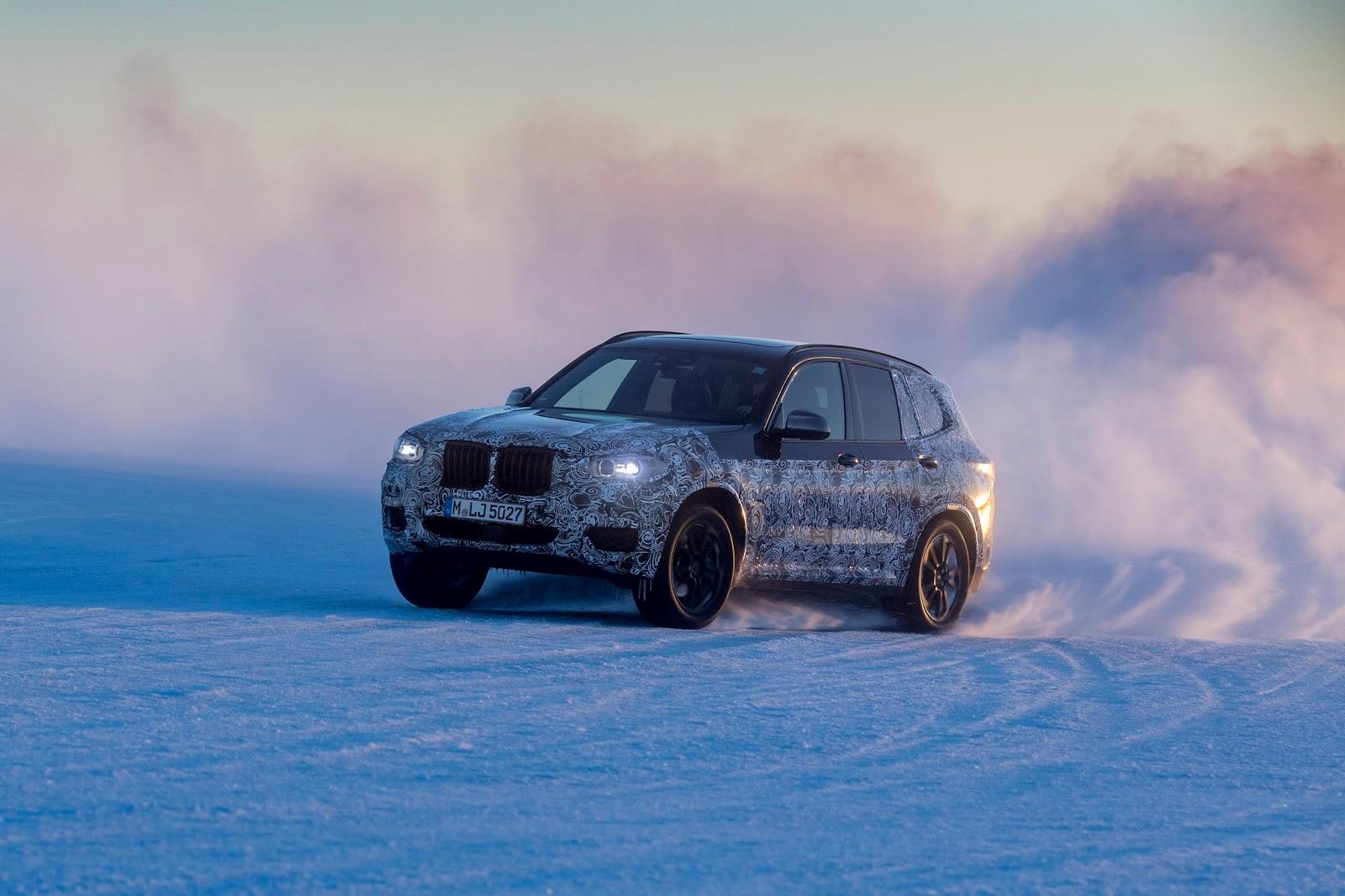 P90249817 highRes the new bmw x3 under Δοκιμές στην παγωμένη Βόρεια Σουηδία, για την επερχόμενη BMW X3 BMW, BMW X, BMW X3, SUV, videos