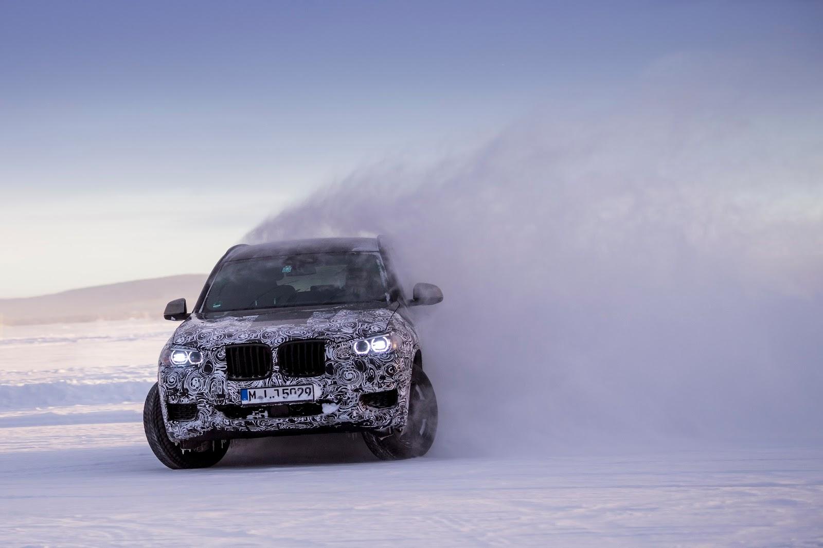 P90249819 highRes the new bmw x3 under Δοκιμές στην παγωμένη Βόρεια Σουηδία, για την επερχόμενη BMW X3 BMW, BMW X, BMW X3, SUV, videos