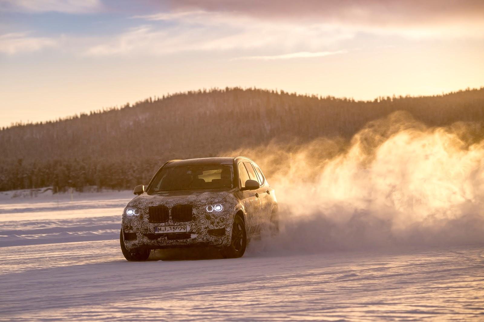 P90249821 highRes the new bmw x3 under Δοκιμές στην παγωμένη Βόρεια Σουηδία, για την επερχόμενη BMW X3 BMW, BMW X, BMW X3, SUV, videos