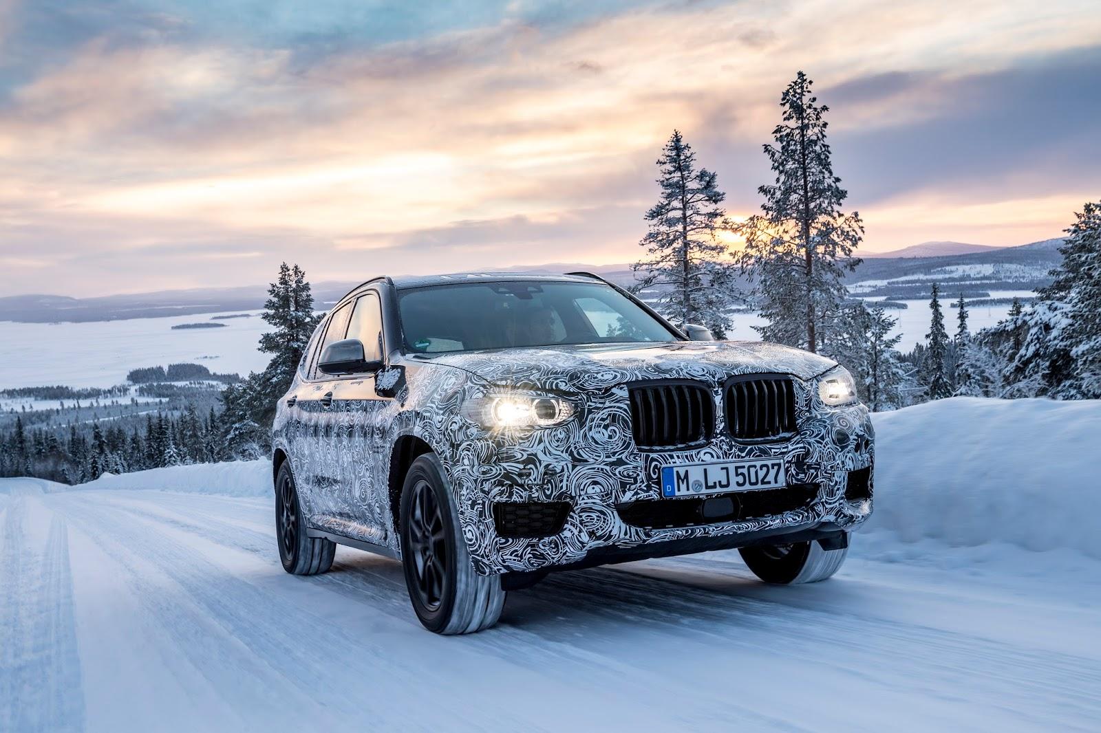 P90249824 highRes the new bmw x3 under Δοκιμές στην παγωμένη Βόρεια Σουηδία, για την επερχόμενη BMW X3 BMW, BMW X, BMW X3, SUV, videos