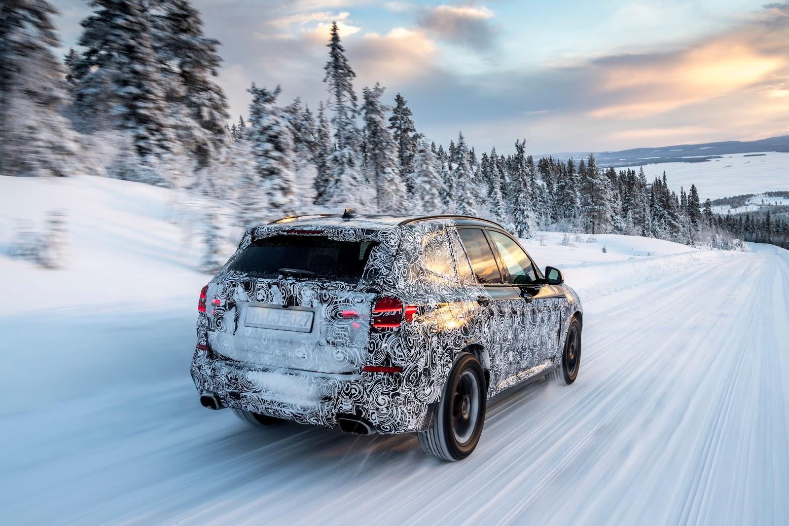 P90249828 highRes the new bmw x3 under Δοκιμές στην παγωμένη Βόρεια Σουηδία, για την επερχόμενη BMW X3 BMW, BMW X, BMW X3, SUV, videos