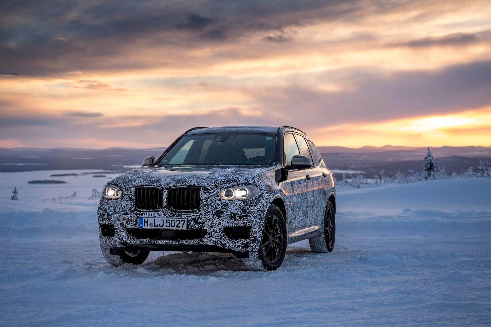 P90249829 highRes the new bmw x3 under Δοκιμές στην παγωμένη Βόρεια Σουηδία, για την επερχόμενη BMW X3 BMW, BMW X, BMW X3, SUV, videos