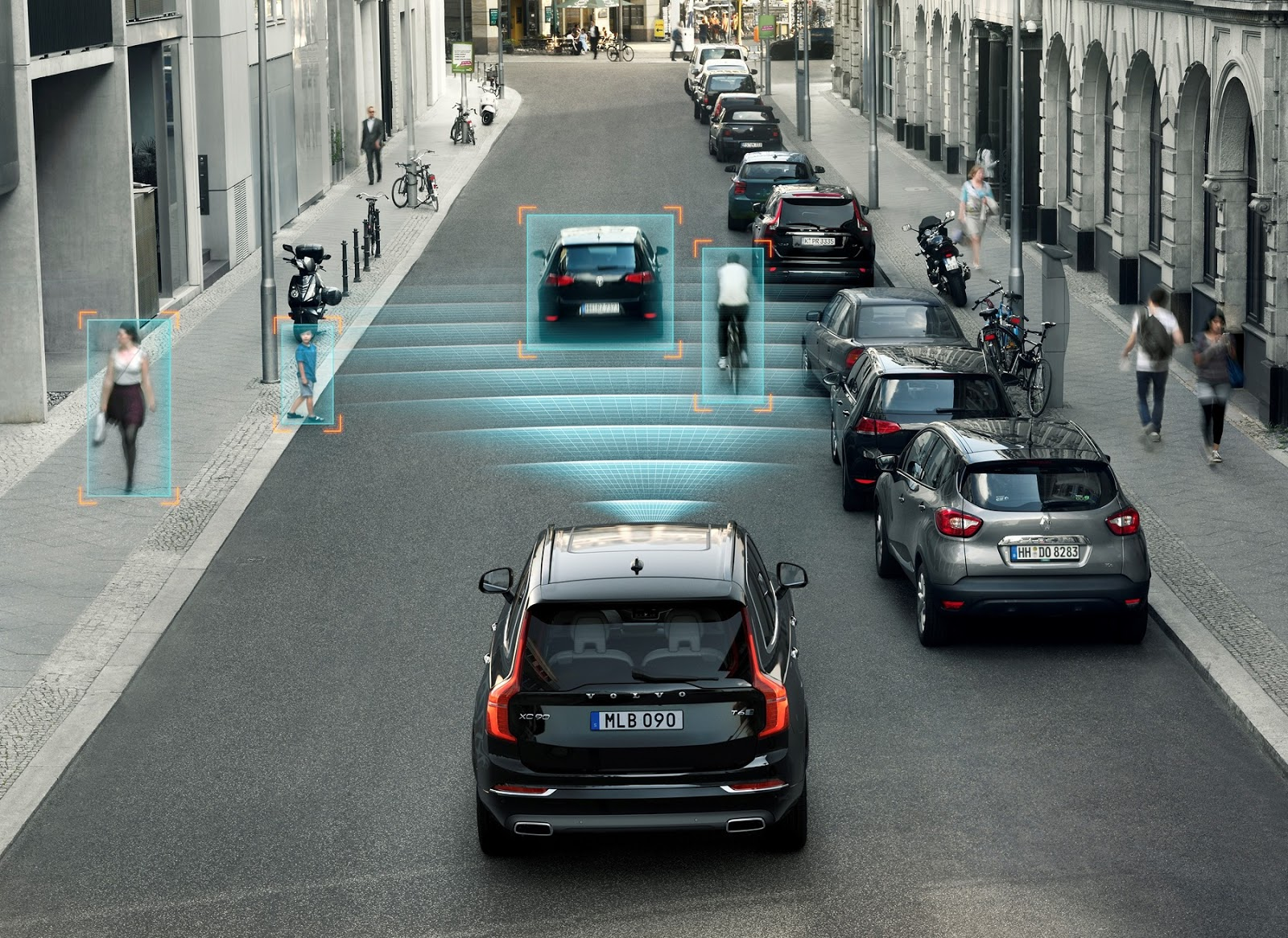 VOLVO XC90 CITY2BSAFETY Τα τρία ασφαλέστερα αυτοκίνητα κατά τον Euro NCAP είναι Volvo Euro NCAP, Safety, Volvo, ασφάλεια