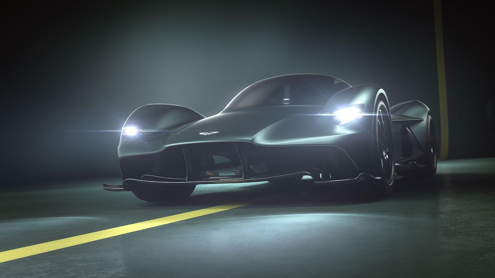 aston martin valkyrie01 Γνώρισε τη Θεά Aston Martin Valkyrie! Aston Martin, Aston Martin Valkyrie, Hybrid, hypercar, Limited edition, Red Bull, supercars