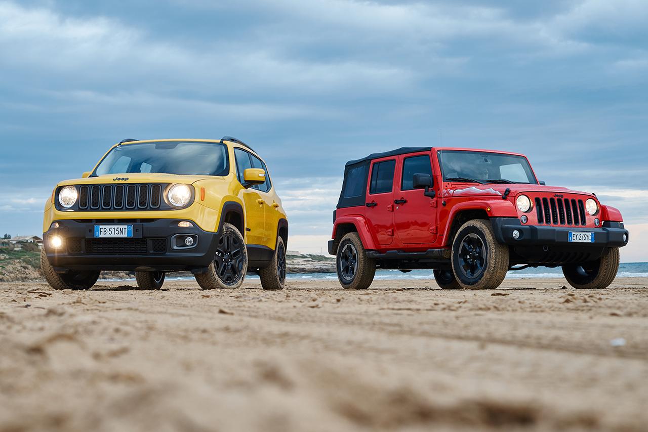 170323 Jeep Wrangler Renegade 01 1 Jeep Renegade και Jeep Wrangler : Τα αγαπημένα SUV και 4X4 των Γερμανών Awards, Jeep, Jeep Renegade, Jeep Wrangler, Offroad