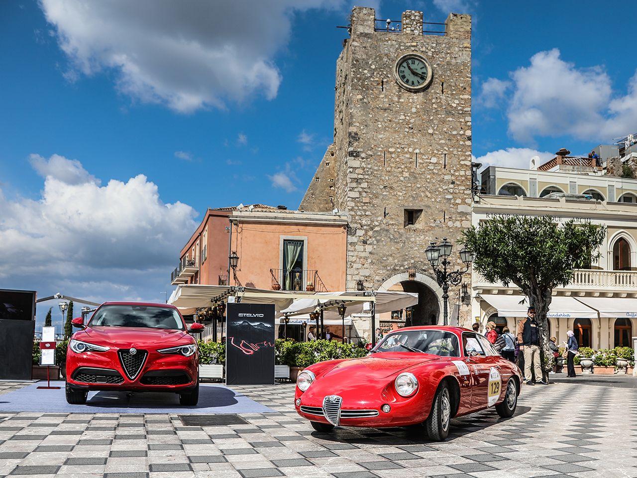 170422 Alfa Romeo On Air 02 Ο πρώτος γύρος στο Targa Florio 2017: από την Taormina στην Cefalù Alfa, alfa romeo, Alfa Romeo Giulia, Alfa Romeo Giulia GTA, Alfa Romeo Giulietta, Alfa Romeo Giulietta SZ, Classic, Targa Florio, videos, αγωνες