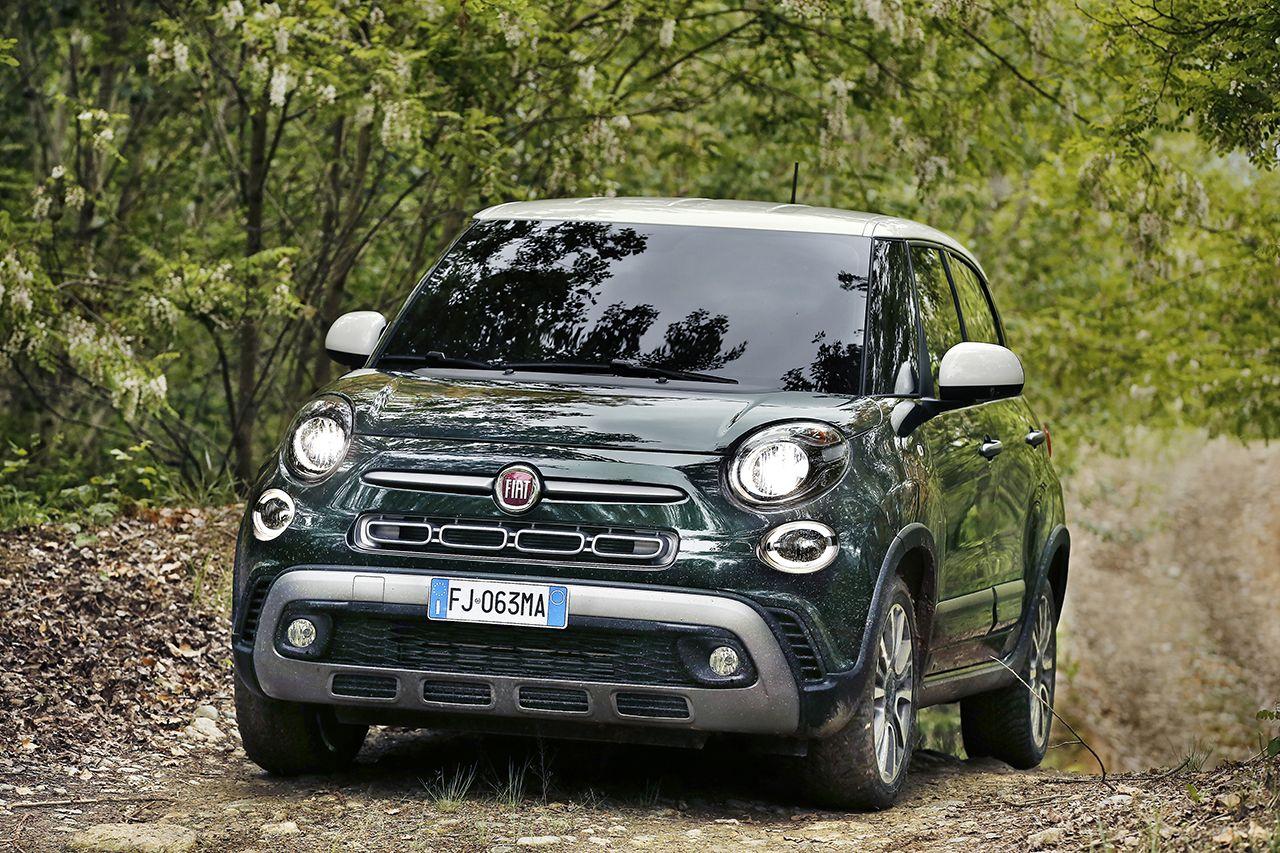 170522 Fiat New 500L Cross 02 Από 16.500€ το νέο Fiat 500L Facelift, Family car, Fiat 500 L, MPV, Λανσάρισμα, τιμες
