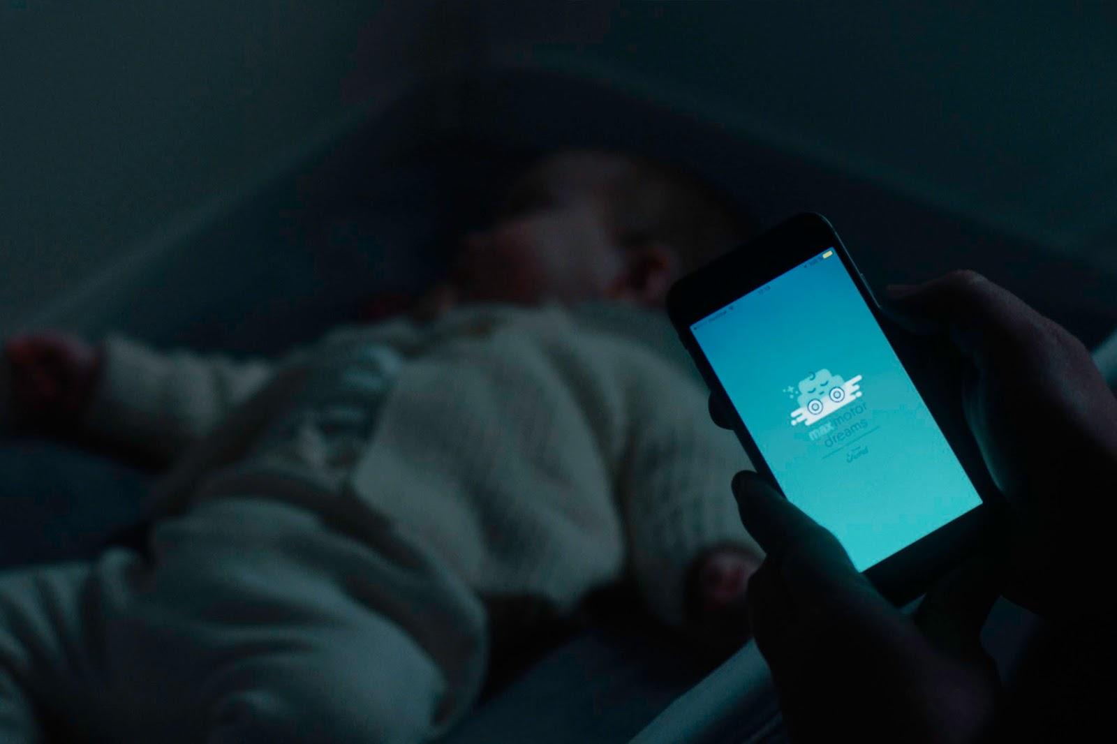 Ford MotoDreams 14 H έξυπνη κούνια που κοιμίζει τα μωρά! baby, baby in a car, Ford, Fun, woman, Τεχνολογία