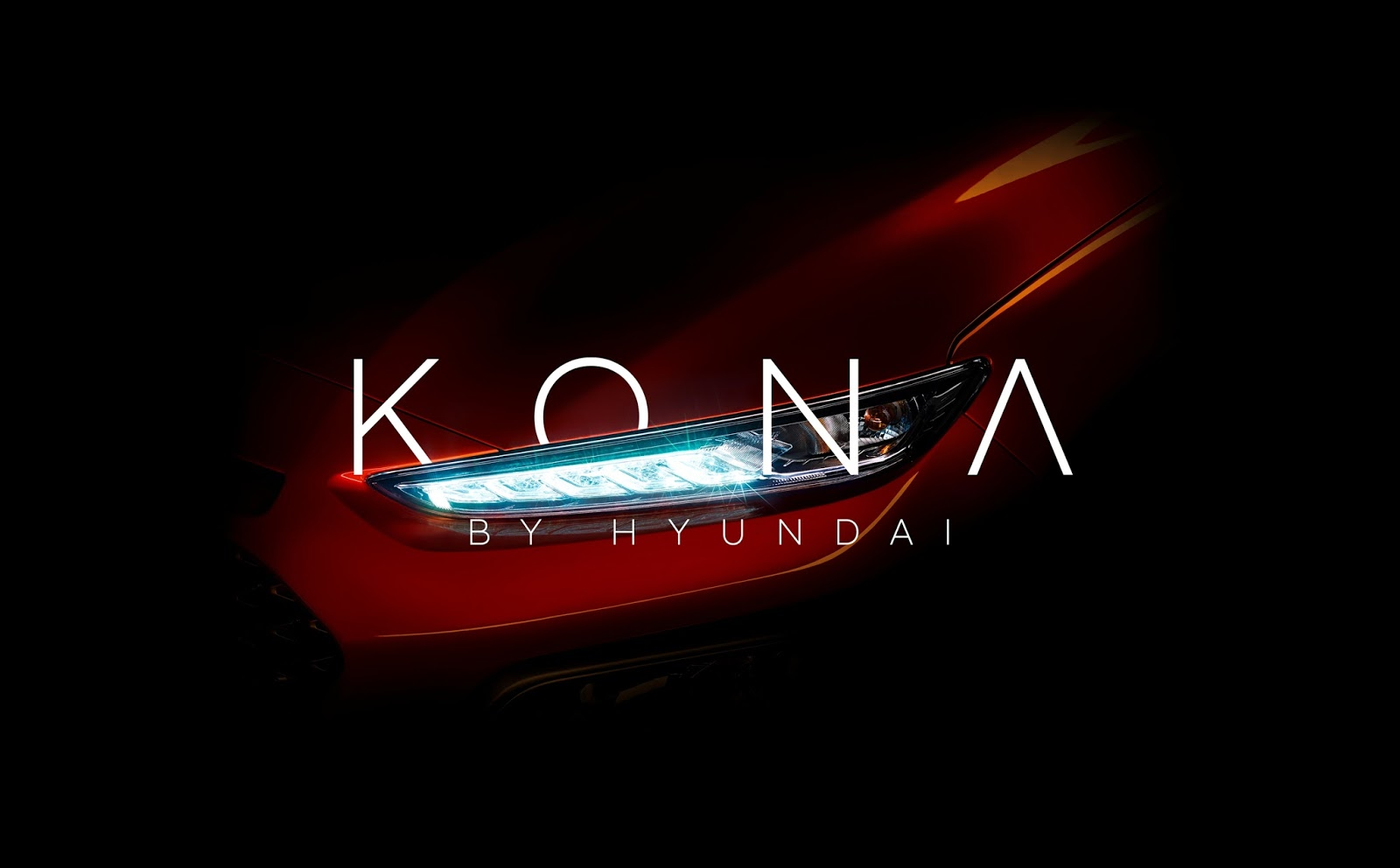 Hyundai Kona Teaser Image Kona θα λέγεται το νέo Compact SUV της Hyundai compact SUV, Hyundai, Hyundai Kona, Prototype, teaser