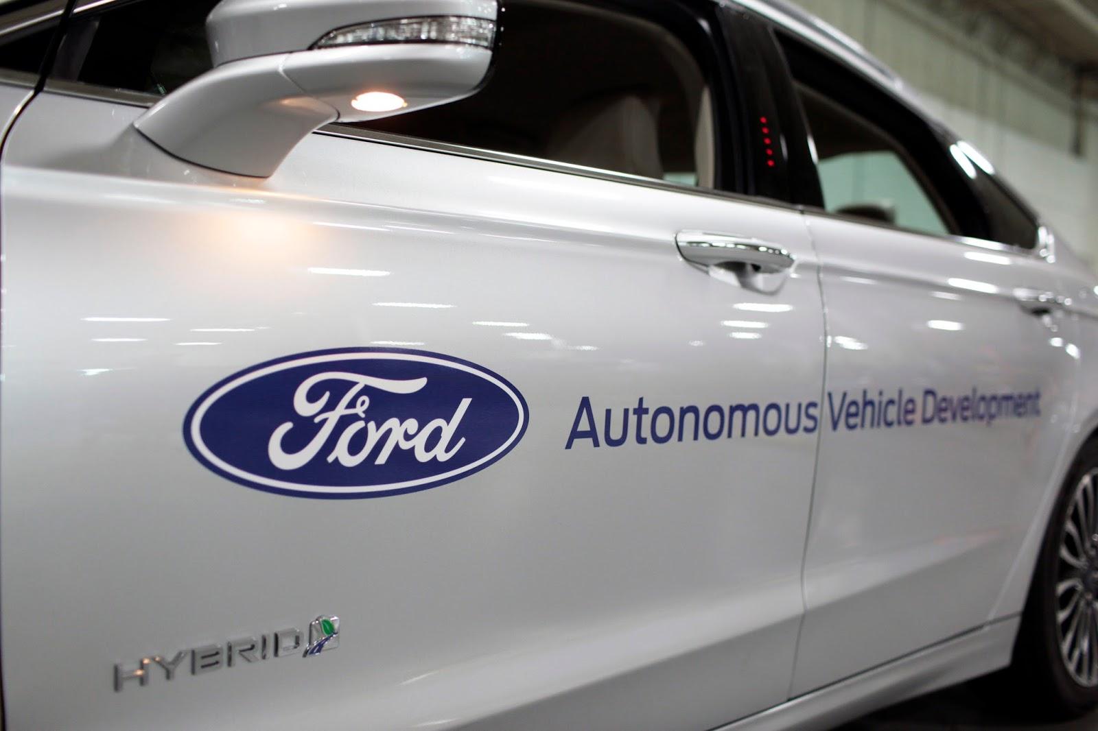 MB 95012B2 Η Ford 1η στην εξέλιξη της αυτόνομης οδήγησης Autonomous Driving, Ford, Τεχνολογία