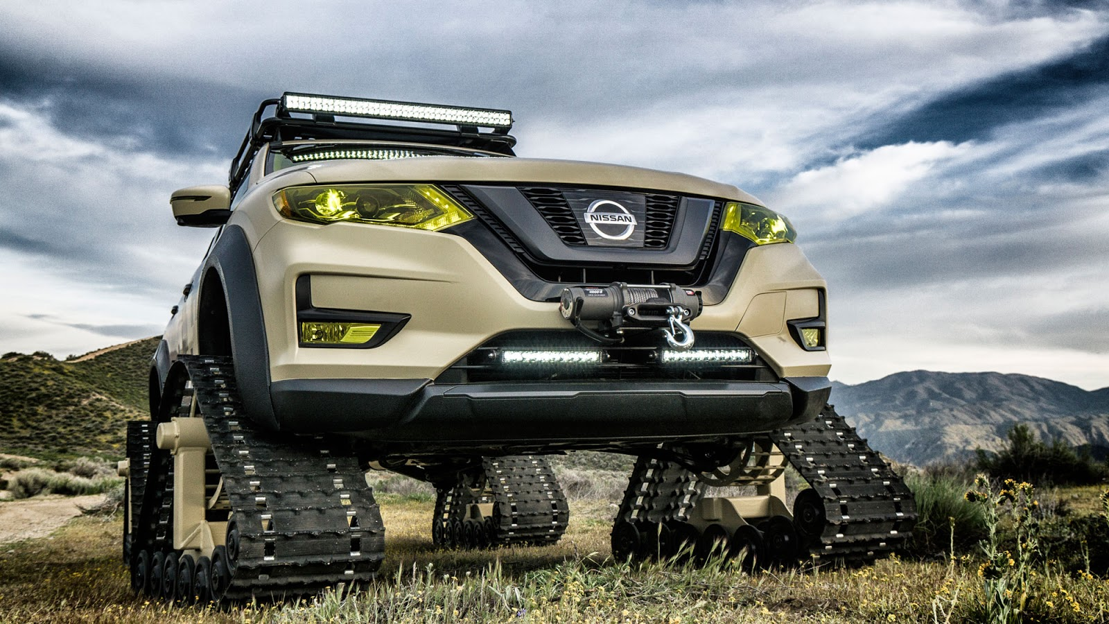 Nissan Rogue Trail Warrior Project 10 rs Nissan Rogue Trail Warrior Project : Το X-trail του... Ράμπο Fun, Nissan, Nissan Rogue, Nissan Rogue Trail Warrior Project, Nissan X-trail, Prototype, SUV