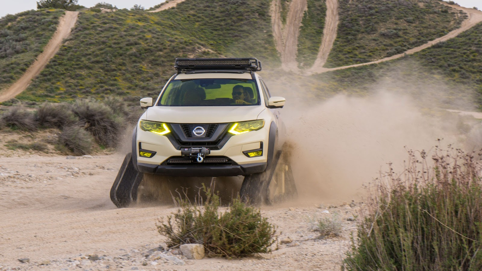 Nissan Rogue Trail Warrior Project 14 rs Nissan Rogue Trail Warrior Project : Το X-trail του... Ράμπο Fun, Nissan, Nissan Rogue, Nissan Rogue Trail Warrior Project, Nissan X-trail, Prototype, SUV