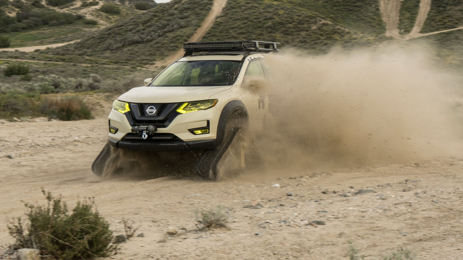 Nissan Rogue Trail Warrior Project 17 rs Nissan Rogue Trail Warrior Project : Το X-trail του... Ράμπο Fun, Nissan, Nissan Rogue, Nissan Rogue Trail Warrior Project, Nissan X-trail, Prototype, SUV