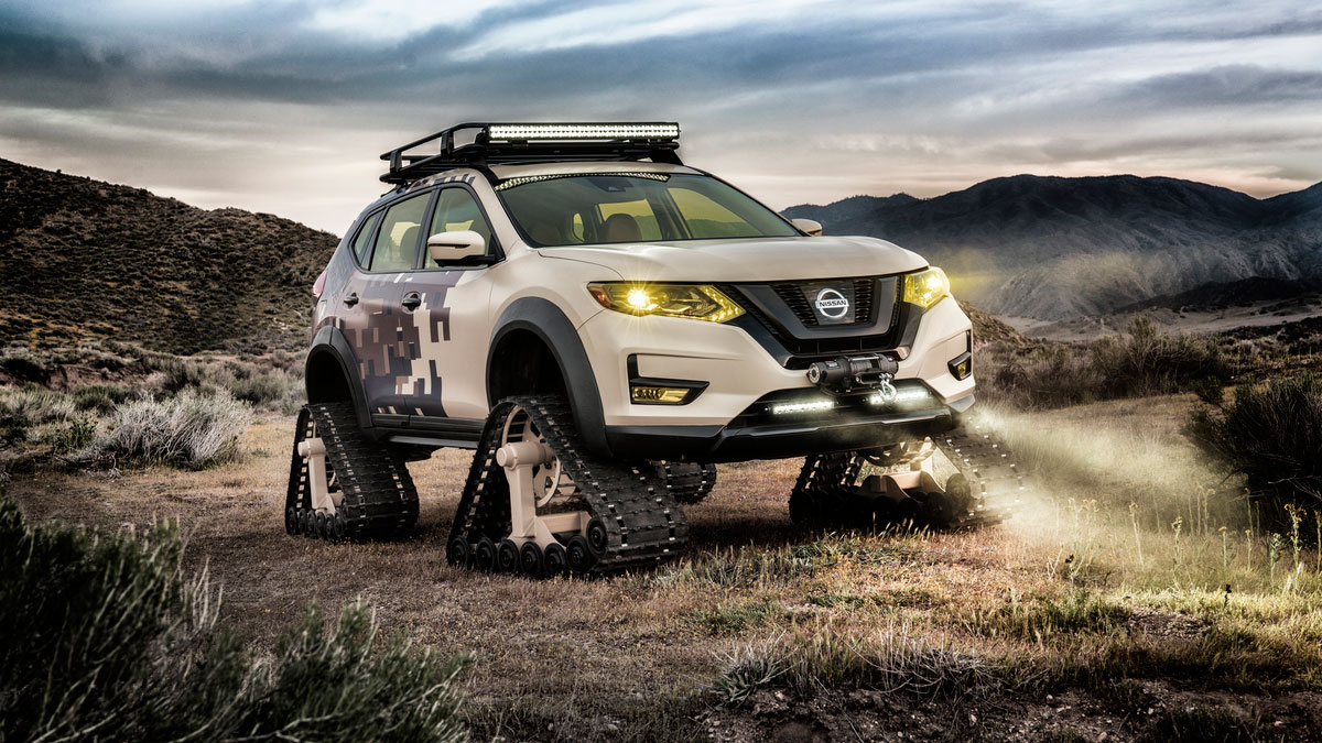Nissan Rogue Trail Warrior Project 1 rs Nissan Rogue Trail Warrior Project : Το X-trail του... Ράμπο Fun, Nissan, Nissan Rogue, Nissan Rogue Trail Warrior Project, Nissan X-trail, Prototype, SUV