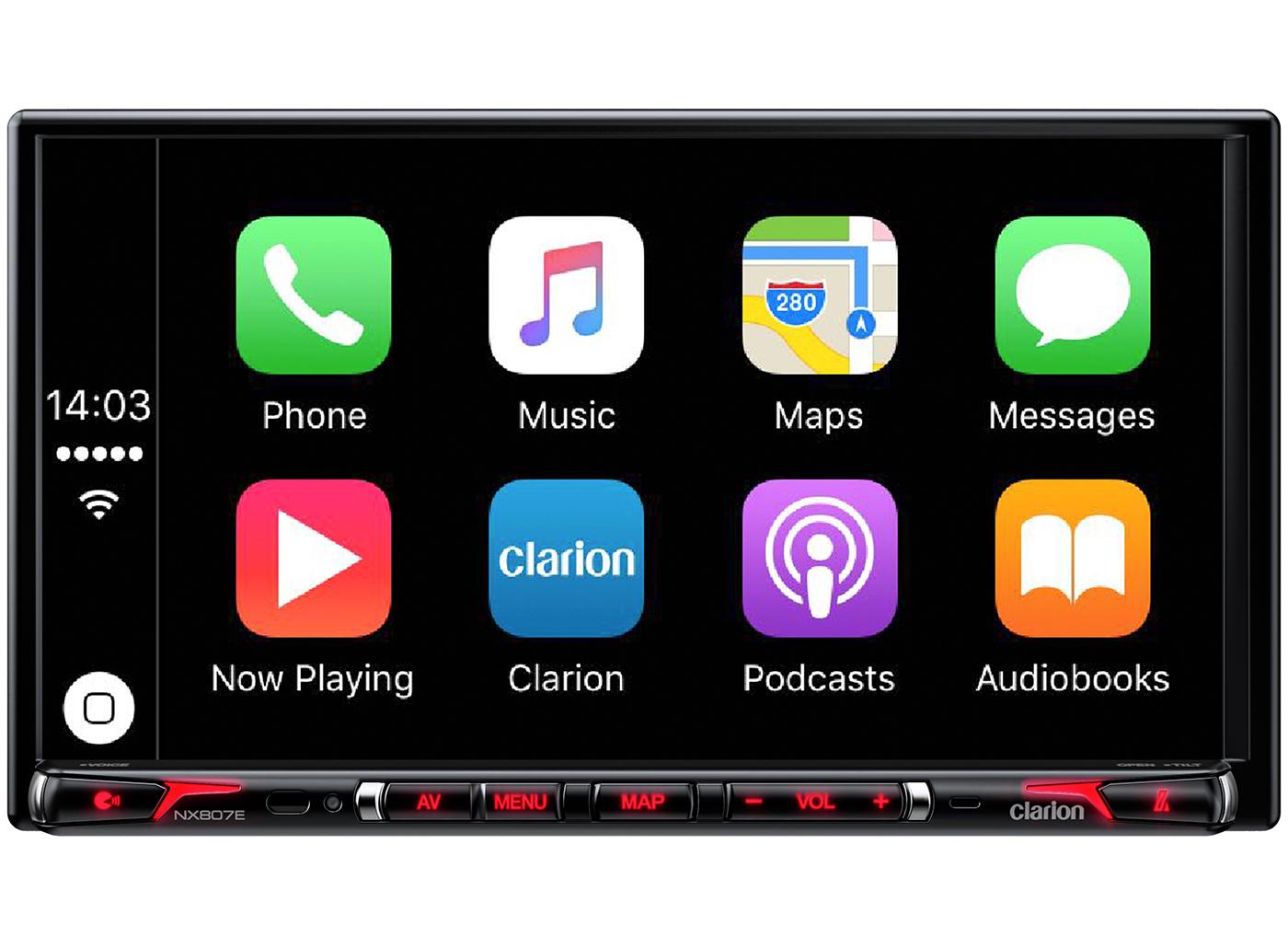 Clarion ΝΧ807Ε: Ένα νέο σύστημα πολυμέσων με CarPlay ! Apple CarPlay, Clarion, navigation, Αξεσουάρ, Ηχοσύστημα αυτοκινήτου, Τεχνολογία