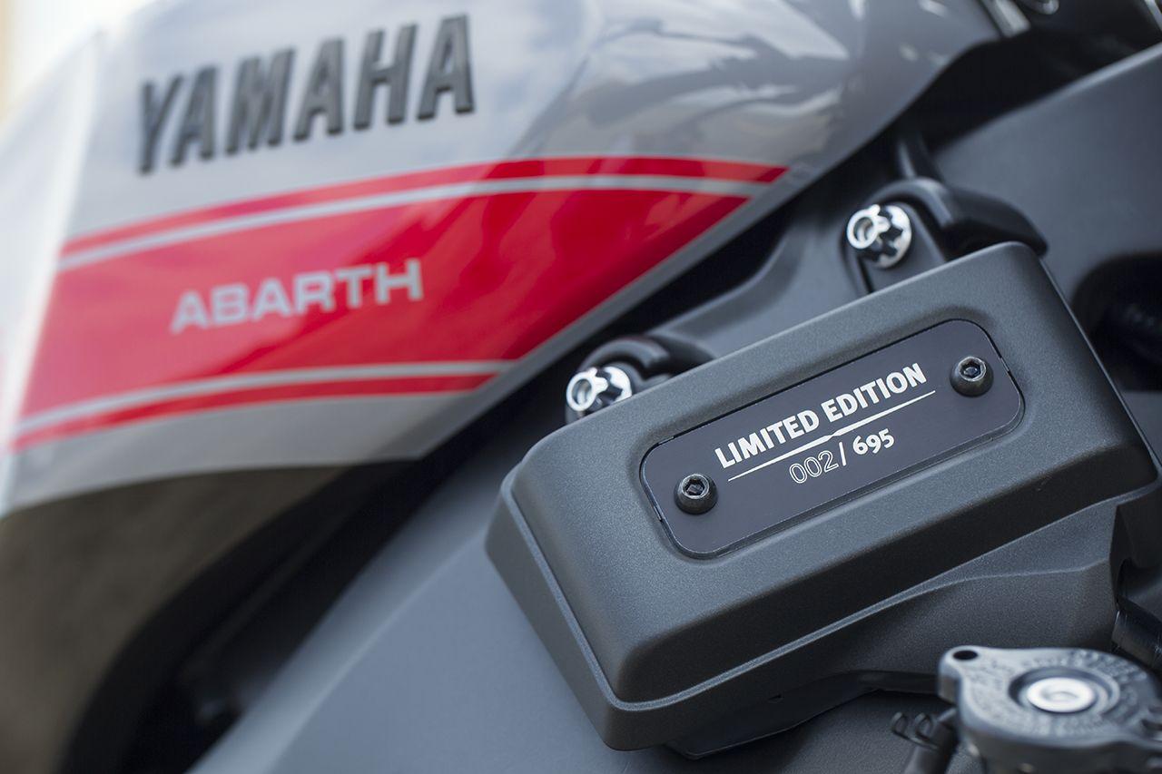 170327 Abarth 695 XSR Detail 04 Με 25.500 ευρώ αποκτάς το συλλεκτικό Abarth 695 XSR Yamaha Abarth, Abarth 695 XSR Yamaha Limited Edition, Akrapovič, Hot Hatch, Limited edition, videos, Yamaha, Περιορισμένης παραγωγής, τιμες