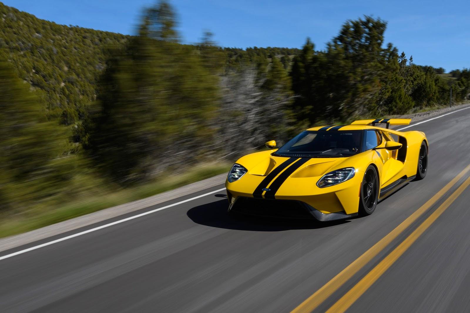 All NewFordGT Innovations 13 Ford GT : Το αυτοκίνητο του αύριο... σήμερα Ford, Ford GT, Ford GT 40, Future, supercars, τεχνικά, Τεχνολογία