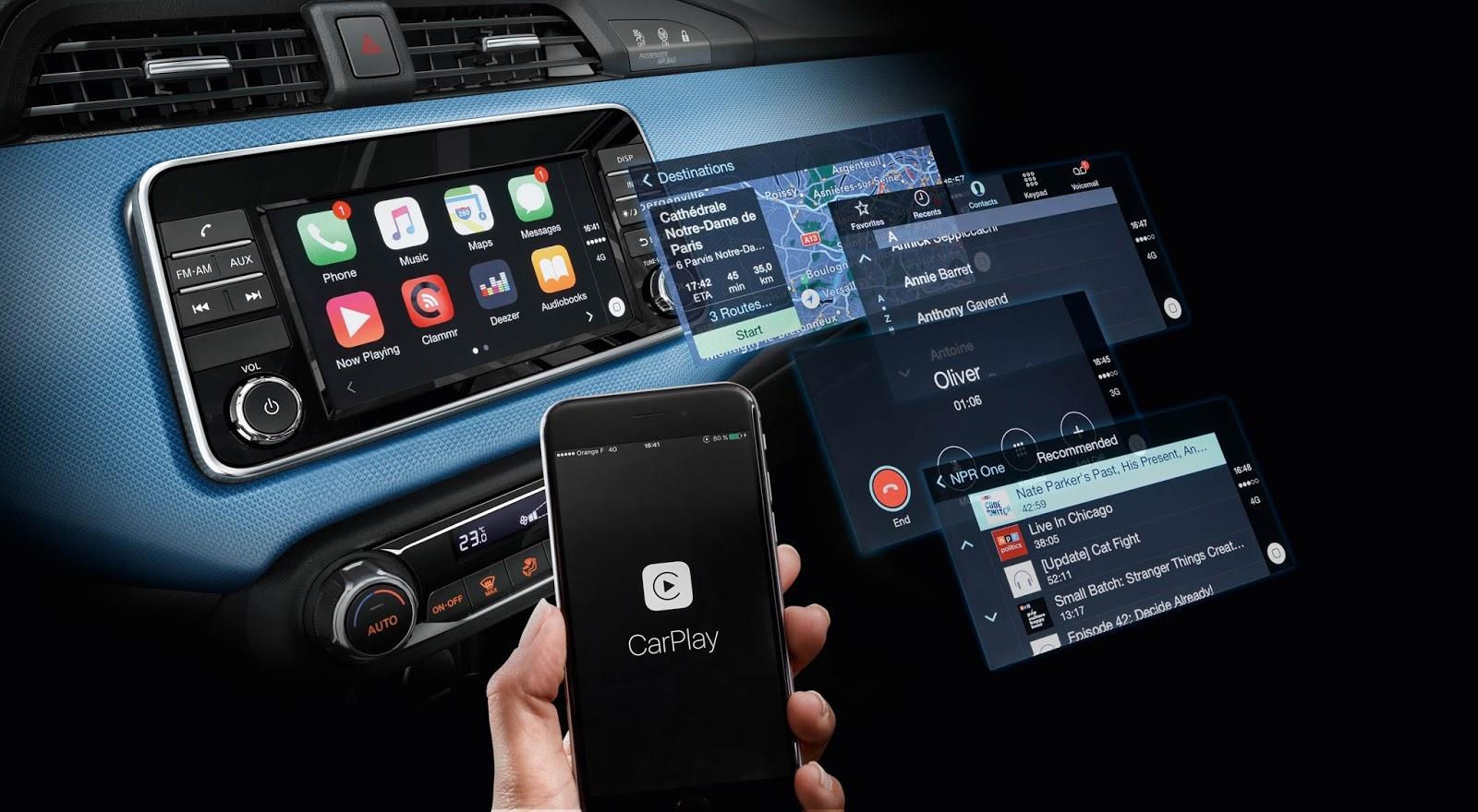 MICRA Apple CarPlay Το... υπερόπλο του νέου Μicra είναι το… Apple CarPlay ! Apple CarPlay, Nissan, Nissan Micra, video, videos
