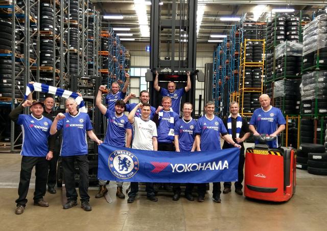 YOKOHAMA UK Warehouse celebrations Γιατί πανηγυρίζουν οι άνθρωποι της YOKOHAMA; YOKOHAMA
