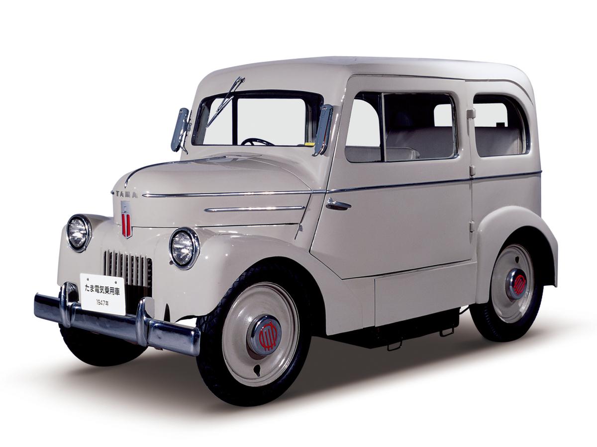 1947 Tama Electric Car Nissan: Στην πρίζα από το 1947!