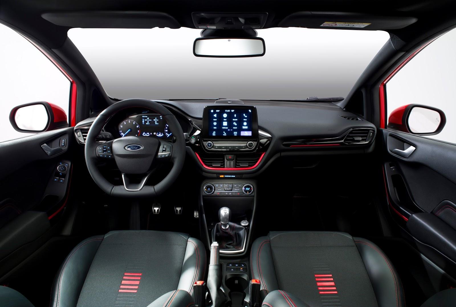FORD FIESTA2016 ST LINE CENTER COCKPIT 03 Τα πρώτα Ford Fiesta έρχονται στην Ελλάδα, με τιμή από 12.990€ Bestseller, Ford, Ford Fiesta, supermini, Λανσάρισμα
