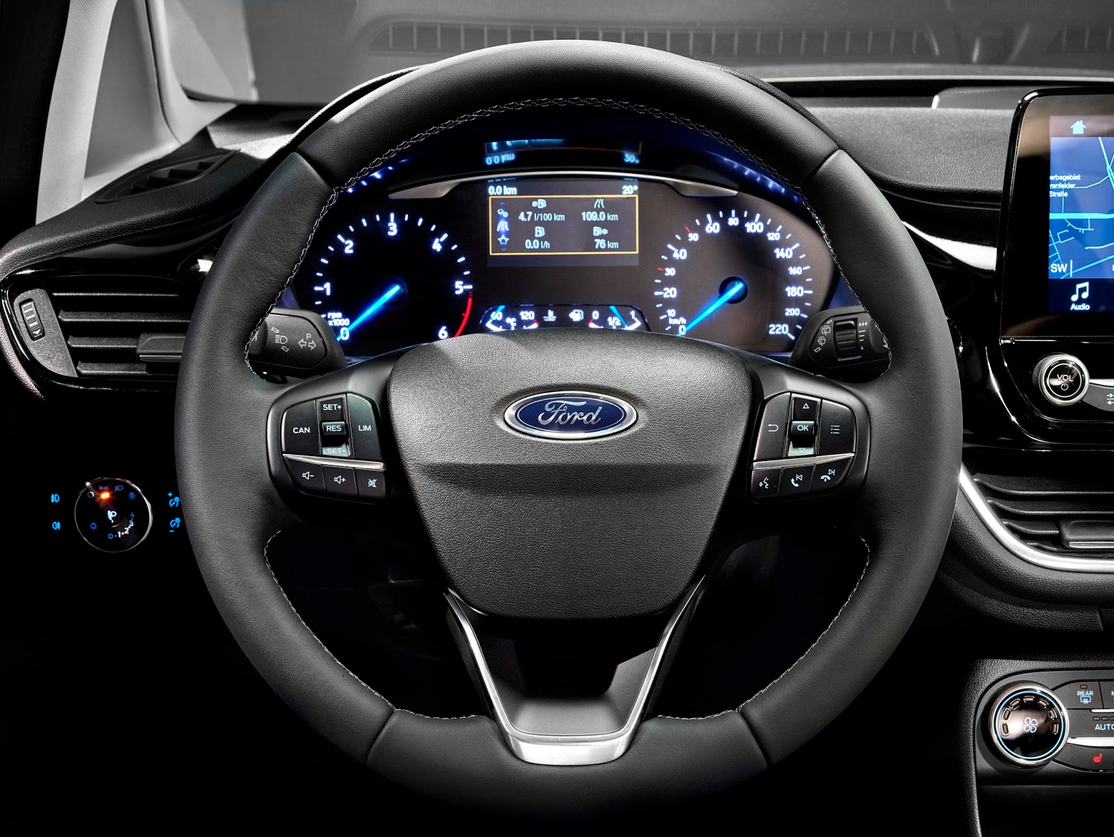 FORD FIESTA2016 TITANIUM STEERING 10 Τα πρώτα Ford Fiesta έρχονται στην Ελλάδα, με τιμή από 12.990€ Bestseller, Ford, Ford Fiesta, supermini, Λανσάρισμα