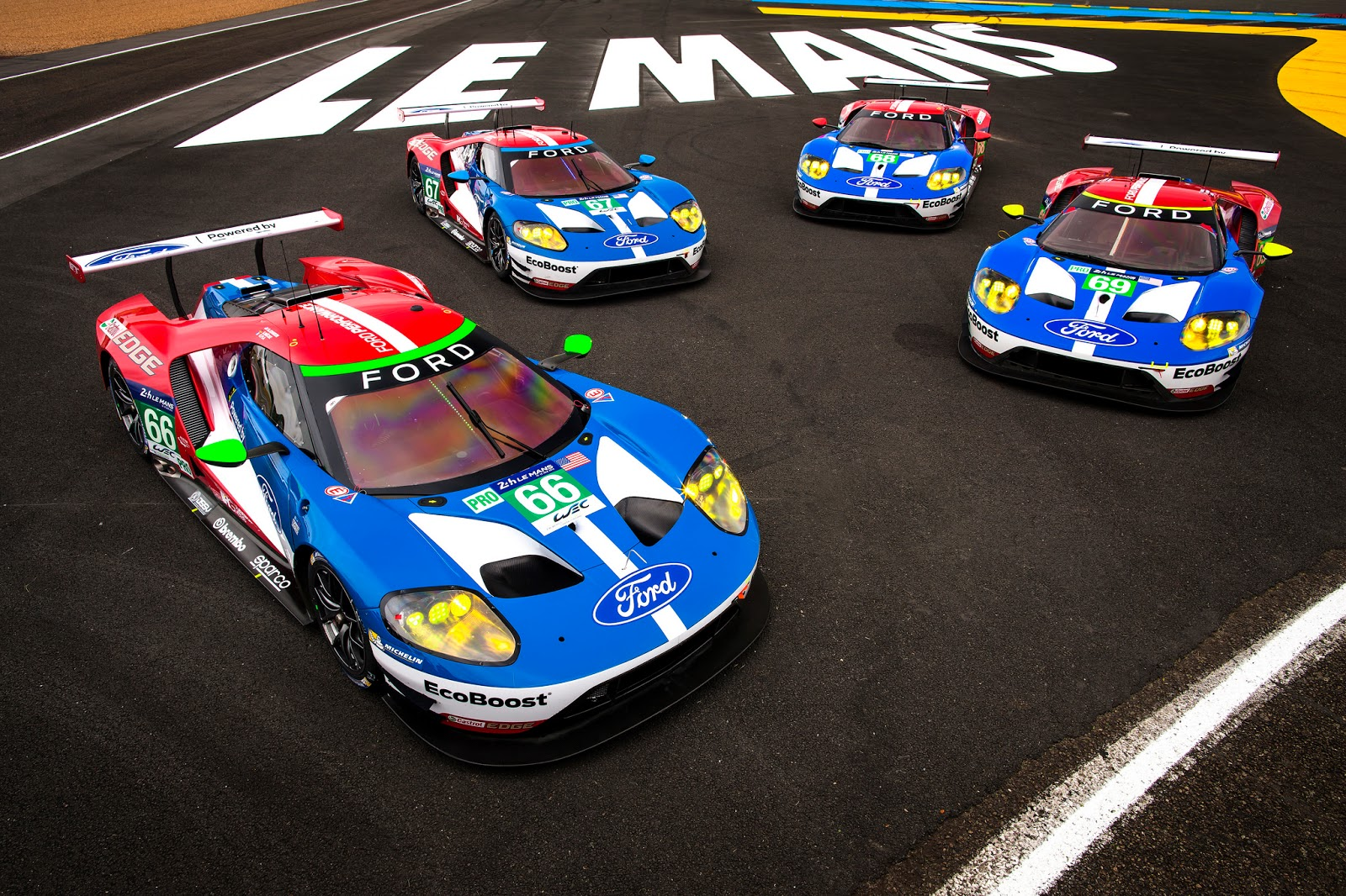 Ford GT the four le mans Οι 24 Ώρες του Le Mans έρχονται, τα 4 Ford GΤ είναι έτοιμα! Ford, Ford Chip Ganassi Racing, Ford GT, LE MANS, Racing Team, videos
