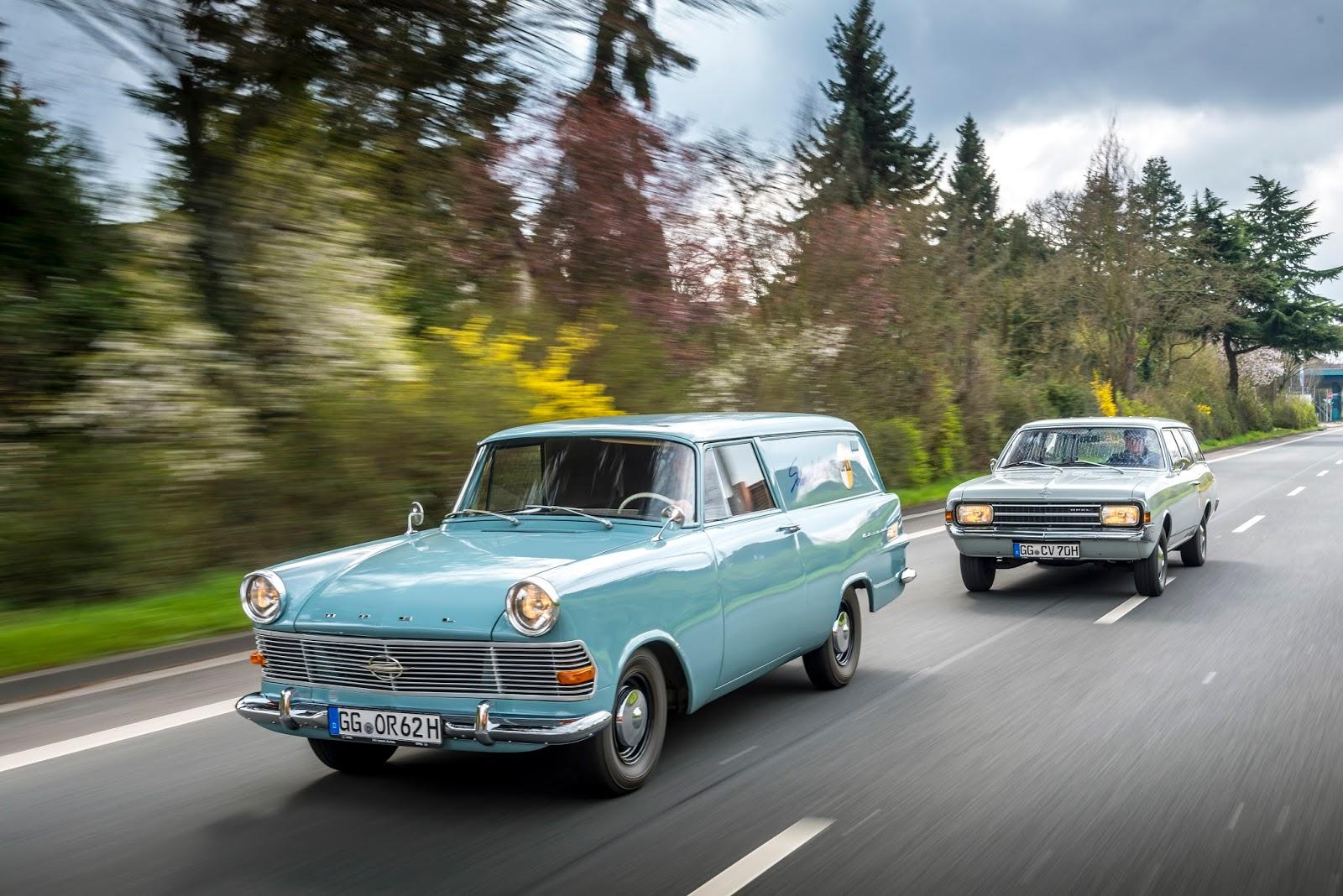 Opel ADAC Hessen Thueringen 304651 Ράλι κλασικών μοντέλων Opel στο Hessen-Thüringen Classic, Opel, Opel Cascada, Opel Record, Opel Wagon, Rally