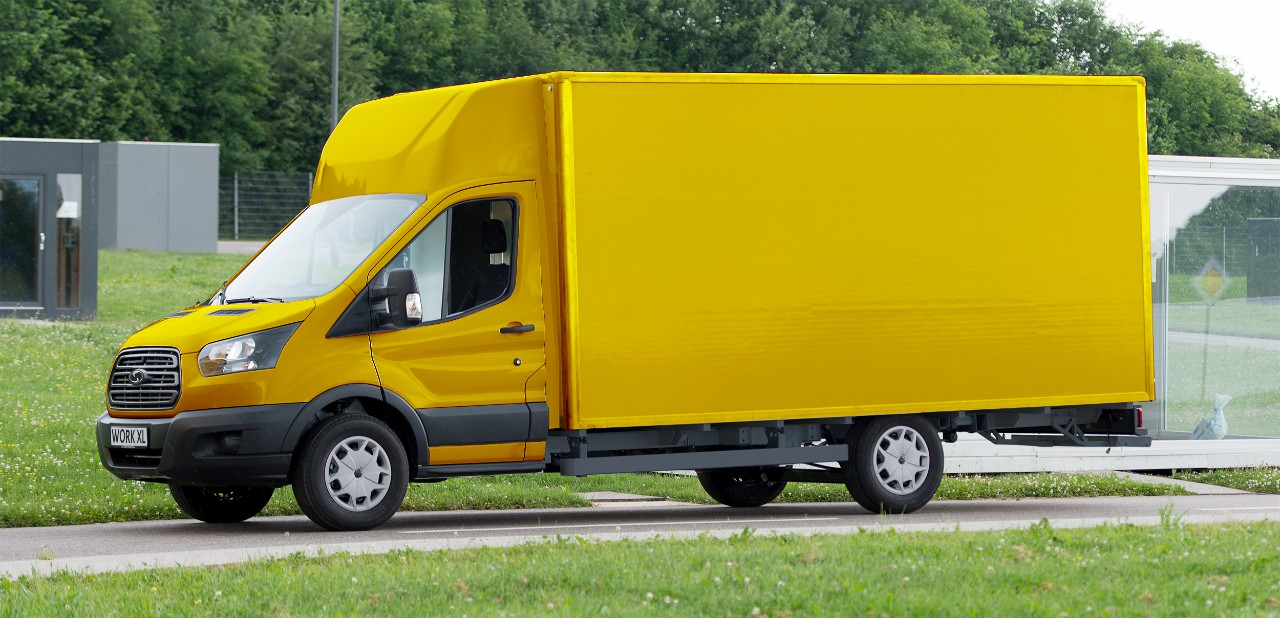StreetScooter2BWork2BXL Juni2B2017 H Ford συνεργάζεται με τα Γερμανικά Ταχυδρομεία για την παραγωγή Ηλεκτρικών Van