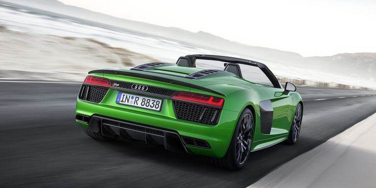 audi1 Το Audi R8 V10 Spyder Plus φέρνει πιο πολύ αέρα στα μαλλιά Audi, Audi R8, αυτοκίνητο, καινούργιο, καινούρια
