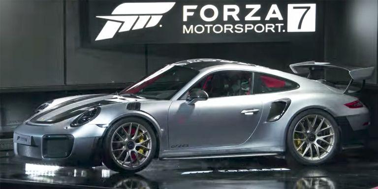 porsche911gt2 rs forza e3 1497630027 Η νέα Porsche 911 GT2 RS θα έχει τελική 350! Porsche, Porsche 911, porsche 911 GT2 RS, zblog