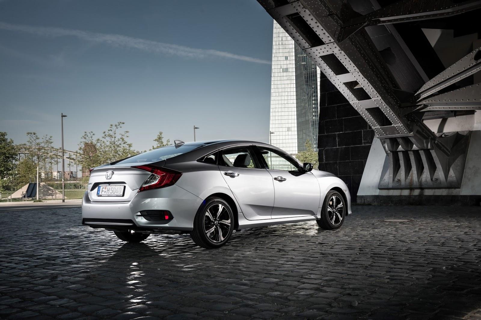 Honda Civic Sedan Οι τεχνολογίες που ενσωματώνει η 10η γενιά του Civic Sedan