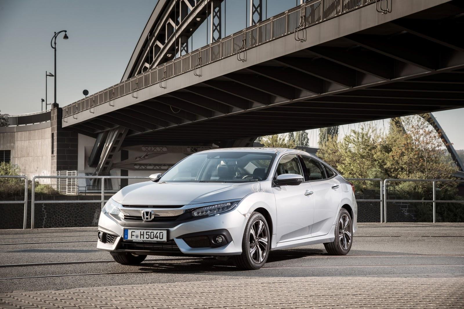 civicsedanempros Οι τεχνολογίες που ενσωματώνει η 10η γενιά του Civic Sedan Honda, Honda Civic, sedan