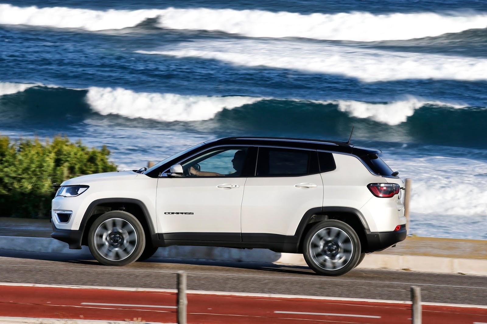 compass Πεντάστερο το Jeep Compass στα crash tests