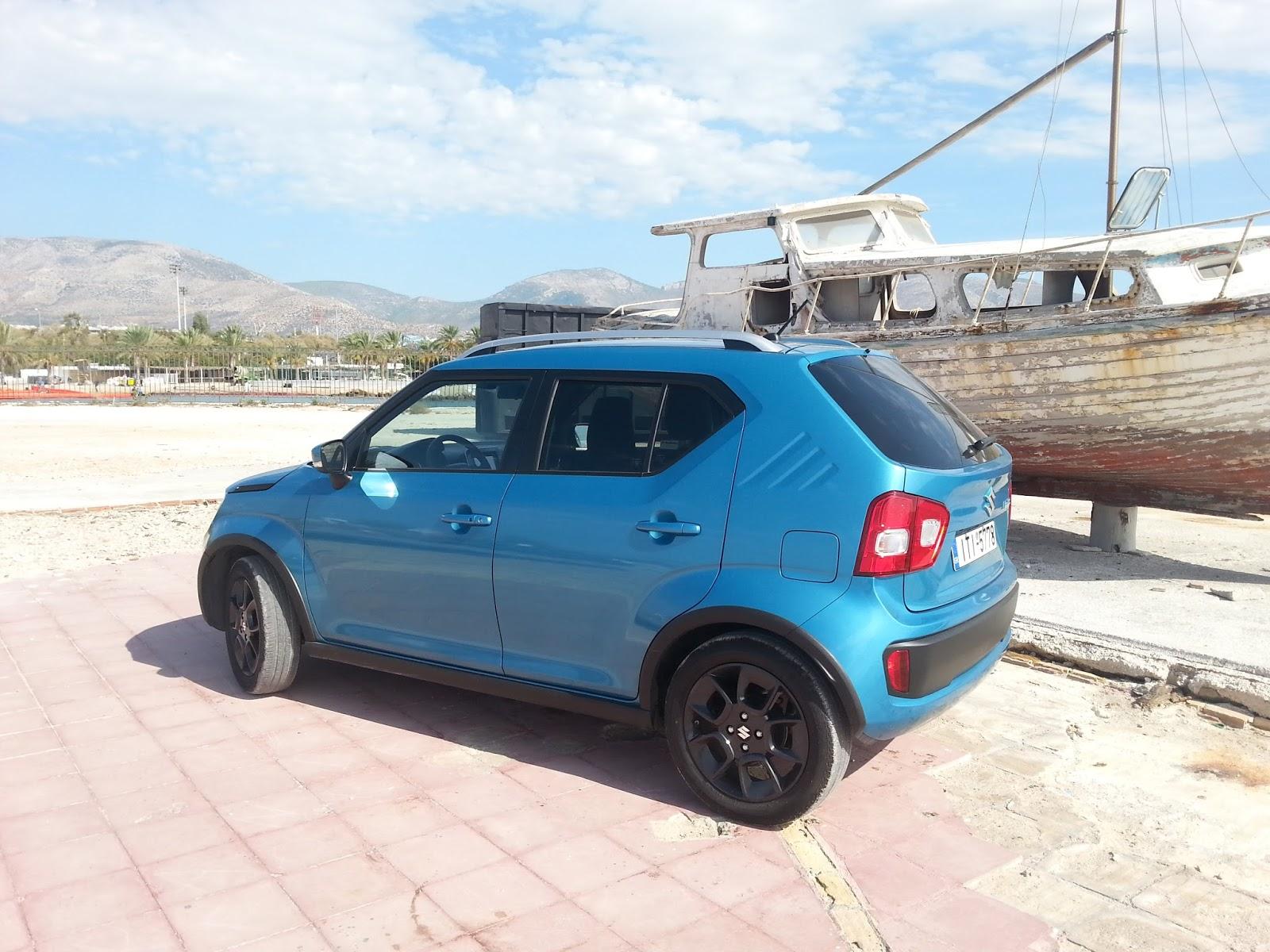 6 Οδηγούμε το Suzuki Ignis 1,2 dualjet Ignis, Suzuki, TEST, ΔΟΚΙΜΕΣ, οδηγούμε