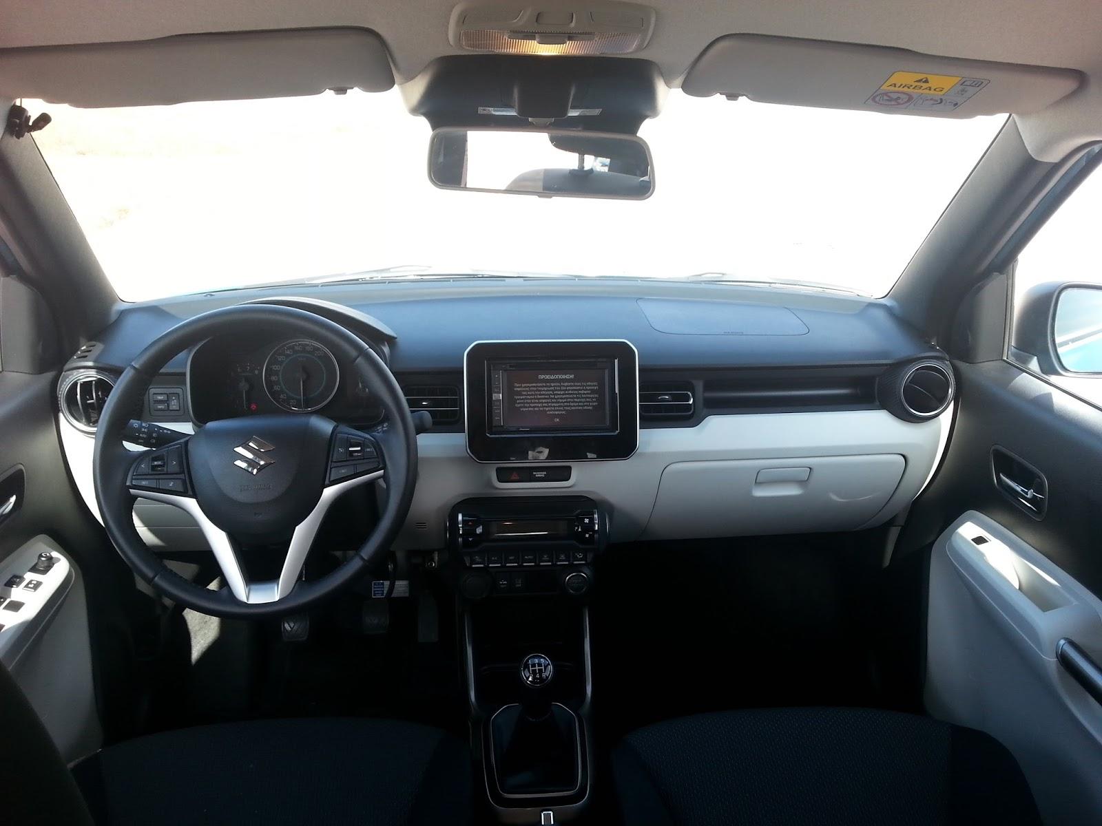 7 Οδηγούμε το Suzuki Ignis 1,2 dualjet Ignis, Suzuki, TEST, ΔΟΚΙΜΕΣ, οδηγούμε