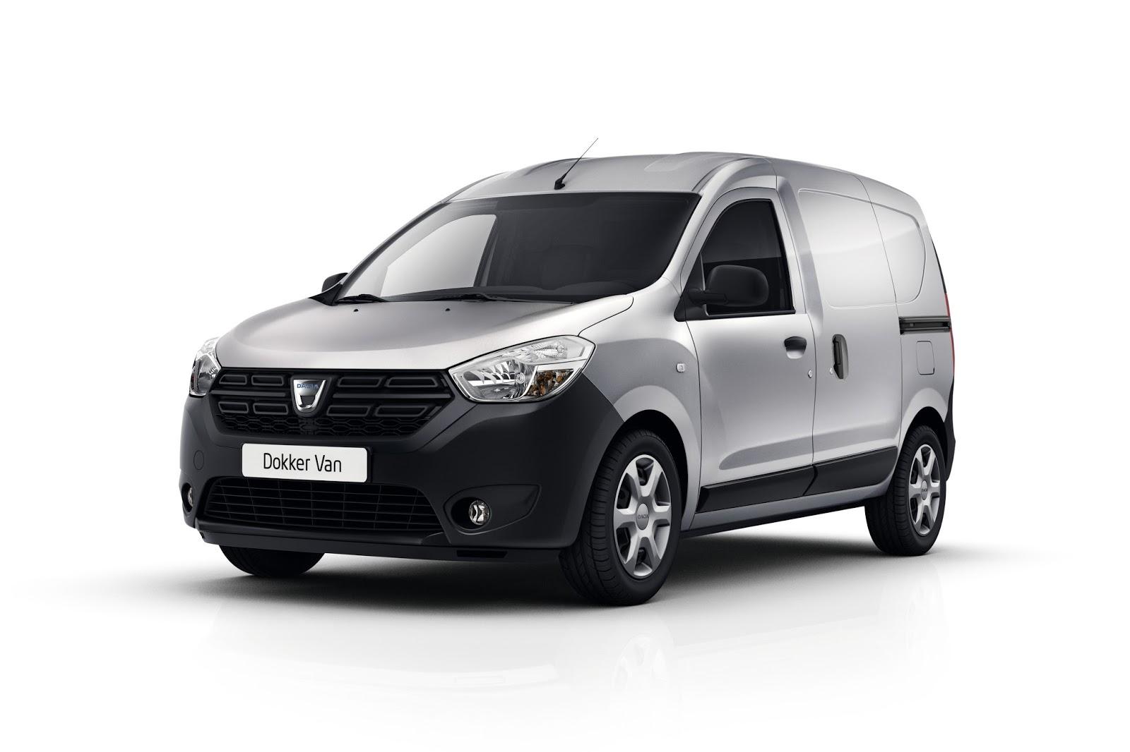dokker Επίσημη πρώτη για το Dacia Dokker Van