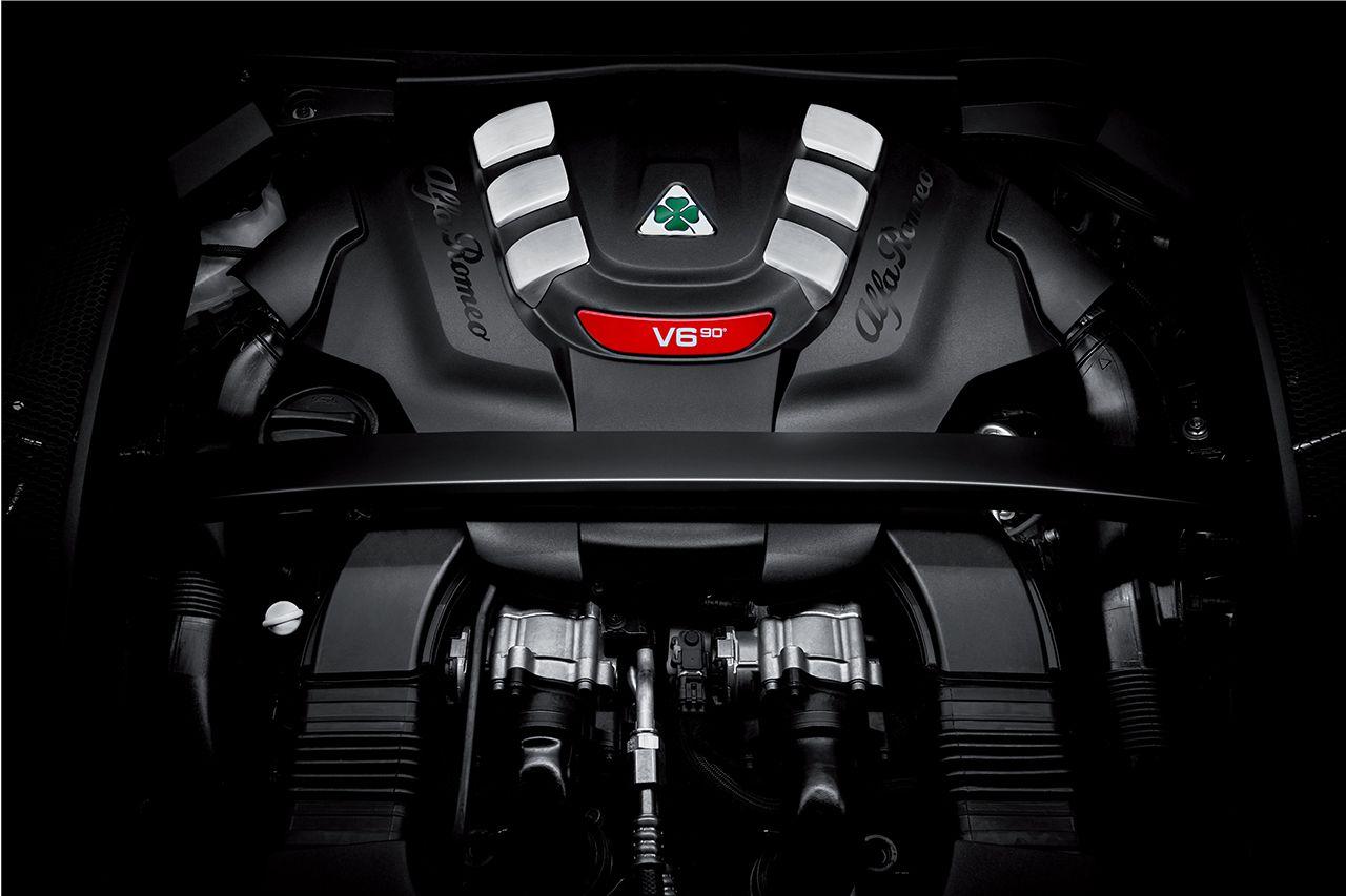 171203 Alfa Romeo Stelvio Quadrifoglio 29 V6 510HP Engine